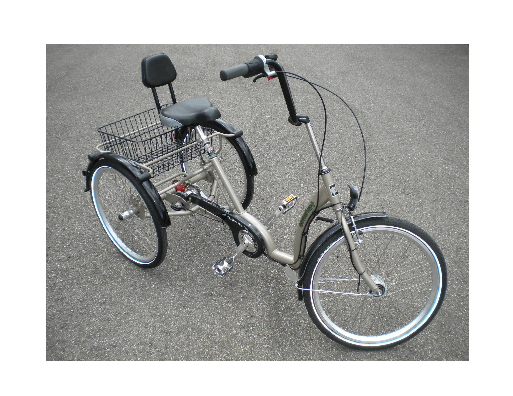 Tricycle COMFORT avec assistance électrique